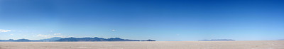 Pano of the Great Salt Lake outside of Salt Lake City, Utah.