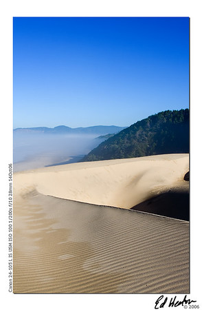 Another dune on the Oregon coast. This time I'm not in the air. (2006)