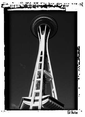The infamous Space Needle in Seattle. (2006)